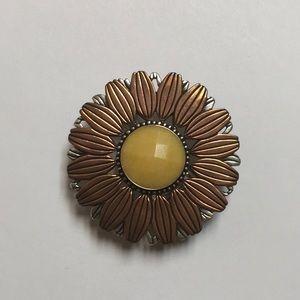 Carolyn Pollack Copper & 925 Pin - Clip